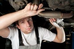 Mecânico no trabalho Imagens de Stock Royalty Free