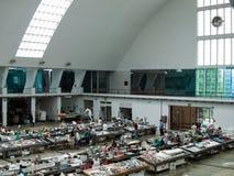 Mecado kommunal de Matosinhos inre sikt arkivbild