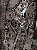 mecanic bakgrund Arkivbilder