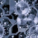 Mecanismo artificial del reloj Fotos de archivo libres de regalías