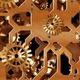 Mecanismo artificial del reloj Imágenes de archivo libres de regalías