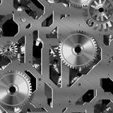 Mecanismo artificial del reloj Foto de archivo