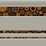 Mecanismo con los engranajes Stock de ilustración