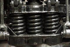Mecanismo da amortização da mola do chassi Fotos de Stock Royalty Free