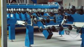 Mecanismo da máquina de rolamento filme