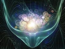 Mecanismo da mente Imagens de Stock