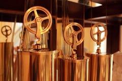 Mecanismo de bronce Foto de archivo libre de regalías