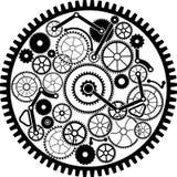 Mecanismo de engranaje ilustración del vector