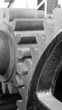 Mecanismo de engranaje original para criar a Murray Morgan Drawbridge de baja foto de archivo libre de regalías