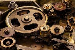 Mecanismo de engranajes de la vendimia Foto de archivo libre de regalías