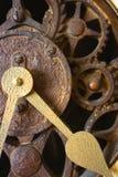 Mecanismo de engranajes del reloj fotos de archivo libres de regalías