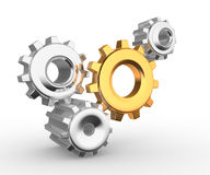 Mecanismo de engrenagem Imagens de Stock