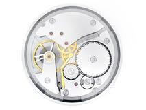 Mecanismo de horas Fotografía de archivo libre de regalías