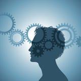 Mecanismo de la mente humana Fotografía de archivo libre de regalías
