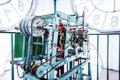 Mecanismo de la torre de reloj Imagen de archivo libre de regalías