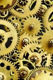 Mecanismo de los engranajes viejos Imagen de archivo libre de regalías