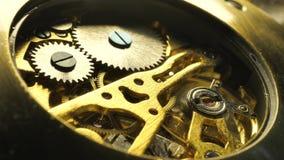 Mecanismo de relógio vídeos de arquivo