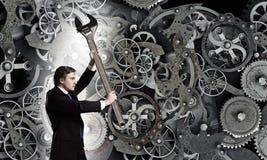Mecanismo de trabalho Fotografia de Stock Royalty Free