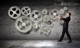 Mecanismo de trabalho Imagens de Stock
