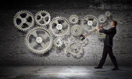 Mecanismo de trabalho Fotos de Stock