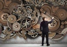 Mecanismo de trabalho Foto de Stock