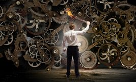 Mecanismo de trabalho Imagem de Stock Royalty Free