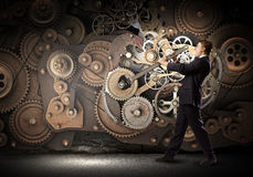 Mecanismo de trabalho Imagem de Stock