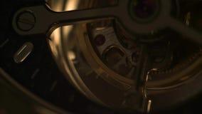 Mecanismo del mecanismo con las joyas almacen de video