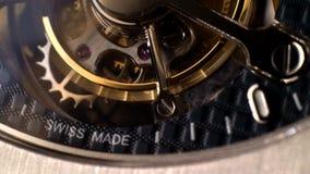 Mecanismo del mecanismo con las joyas almacen de metraje de vídeo
