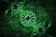 Mecanismo del fractal Fotografía de archivo