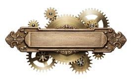 Mecanismo del mecanismo de Steampunk fotografía de archivo
