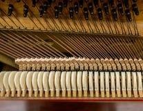 Mecanismo del piano Imagen de archivo libre de regalías