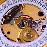 Mecanismo del reloj Imágenes de archivo libres de regalías