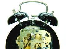 Mecanismo del reloj de alarma Imagenes de archivo