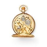 Mecanismo del reloj de bolsillo Foto de archivo libre de regalías