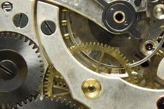 Mecanismo del reloj de bolsillo Fotografía de archivo libre de regalías