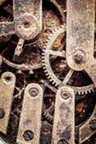 Mecanismo del reloj de Grunge Fotografía de archivo libre de regalías