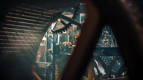 Mecanismo del reloj de la torre metrajes