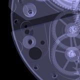 Mecanismo del reloj. Radiografía Imagenes de archivo