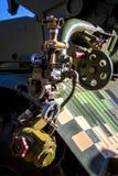 Mecanismo del vehículo de combate para fijar la blanco de la destrucción fotografía de archivo