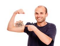 Mecanismo do braço foto de stock royalty free