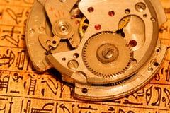 Mecanismo do relógio Fotografia de Stock Royalty Free