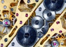 Mecanismo do relógio imagens de stock royalty free