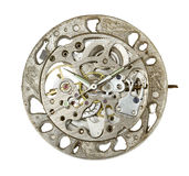 Mecanismo do relógio Imagem de Stock Royalty Free