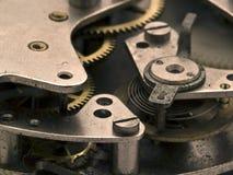 Mecanismo do relógio Imagens de Stock