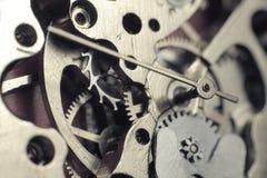 Mecanismo do relógio Fotos de Stock Royalty Free