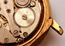Mecanismo do relógio do vintage Fotografia de Stock