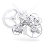 Mecanismo do relógio do conceito Imagens de Stock