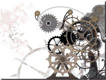 Mecanismo Grunge Imagens de Stock