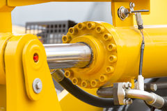 Mecanismo hidráulico fotos de stock